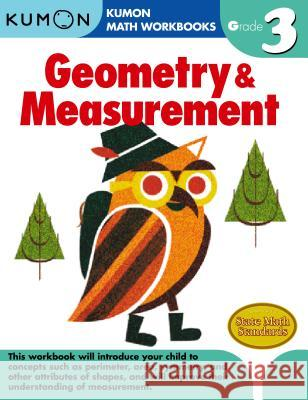 Grade 3 Geometry & Measurement Kumon 9781934968680