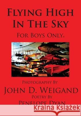 Flying High in the Sky---For Boys Only Penelope Dyan John D. Weigand 9781935118664