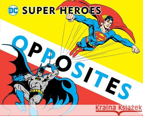 Super Heroes Book of Opposites David Katz 9781935703761