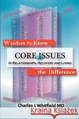 Wisdom to Know the Difference: Core Issues in Relationships, Recovery and Living Charles L. Whitfield Donald L. Brennan 9781935827108 Muse House Press/Pennington