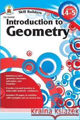 Introduction to Geometry, Grades 4 - 5  9781936023240