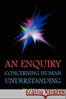 An Enquiry Concerning Human Understanding David Hume 9781936041916 Simon & Brown