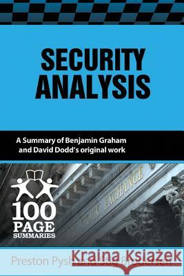 Security Analysis Preston Pysh Stig Brodersen 9781939370174