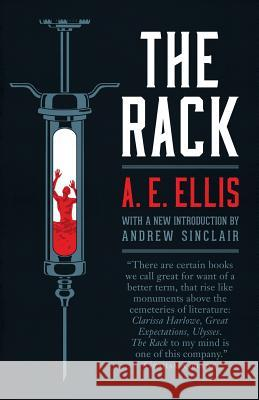 The Rack A E Ellis Derek Lindsay Andrew Sinclair 9781941147160 Valancourt Books