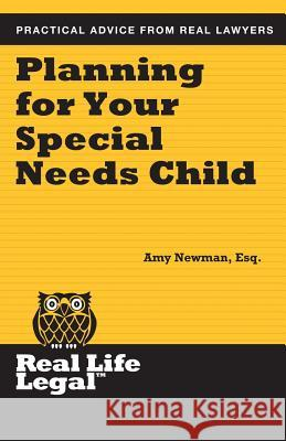 Planning for Your Special Needs Child Amy Newma 9781941760109