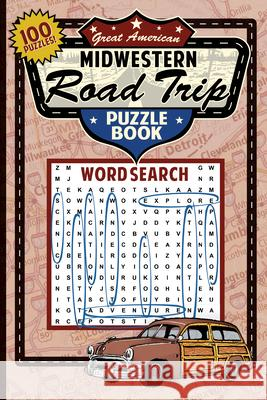 Great Midwestern Road Trip Puzzle Book Applewood Books 9781945187209