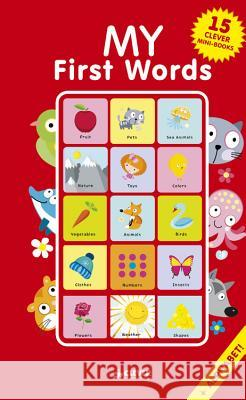My First Words: 15 Mini Board Book Box Set Clever Publishing                        Tatyana Korchemkina 9781948418508