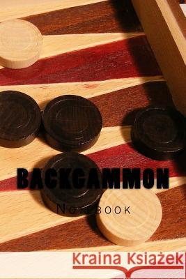 Backgammon: Notebook Wild Pages Press 9781974081356