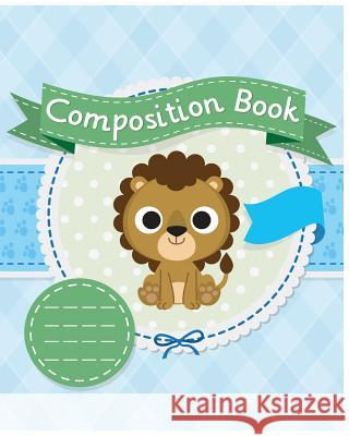 Cute Composition Book: Kids School Exercise Book Wide Ruled Large Notebook 8x10inch 100pages C&m Creative Log Book 9781974303236