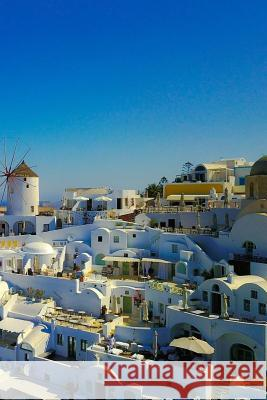 Notebook Santorini Greece the Stunning Coast Wild Pages Press 9781974347254