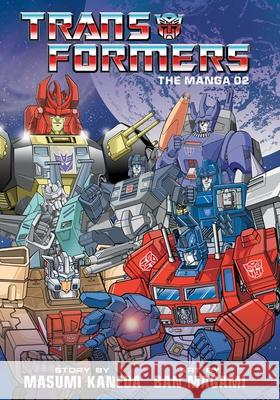 Transformers: The Manga, Vol. 2 Ban Magami Masumi Kaneda 9781974711772