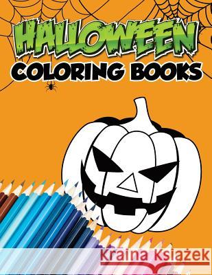 Halloween Coloring Books: Character Halloween, 13 Words Character Smart Education 9781976470585