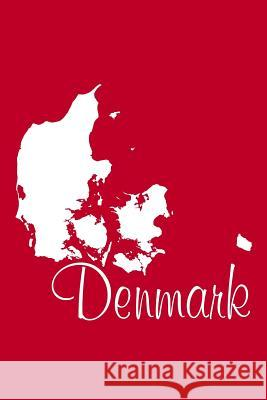 Denmark - Venetian Red Lined Notebook with Margins: 101 Pages, Medium Ruled, 6 X 9 Journal, Soft Cover Legacy 9781977961242
