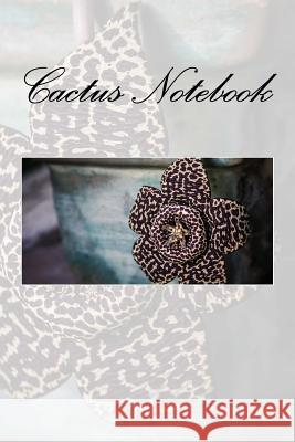 Cactus Notebook Wild Pages Press 9781978334632