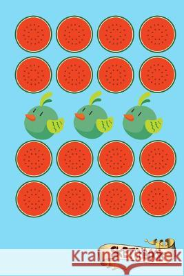 Sketchbook: Watermelons and Birds Journal, Drawing Sketch Pad and Blank Notebook Gift for School Kids, Boys and Girls, Children An M. Shafiq 9781981872923