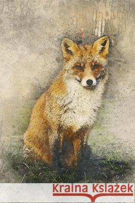 Fox Notebook: 150 Lined Pages, Glossy Softcover, 6 X 9 Wild Pages Press 9781983883903