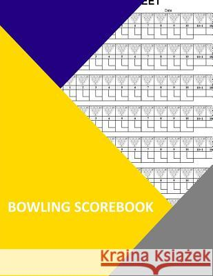Bowling Scorebook: 350 Pages Thor Wisteria 9781984228369