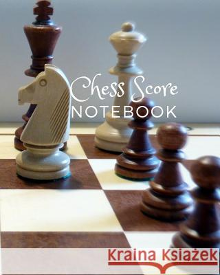 Chess Score Notebook: Large Size 8