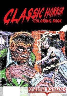 Classic Horror Coloring Book Mike Gagnon 9781988369143 Hammer Books
