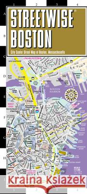 Streetwise Boston Map - Laminated City Center Street Map of Boston, Massachusetts Michelin 9782067229914