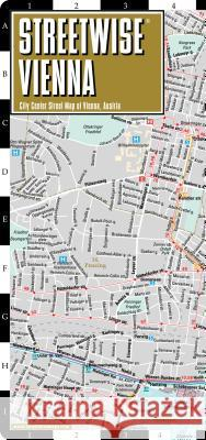 Streetwise Vienna Map - Laminated City Center Street Map of Vienna, Switzerland Michelin 9782067229952