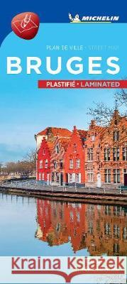 Michelin Bruges City Map - Laminated  9782067248212
