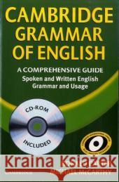 Cambridge Grammar of English, w. CD-ROM: A Comprehensive Guide. Spoken and Written English. Grammar and Usage Carter, Ronald McCarthy, Michael  9783125343337