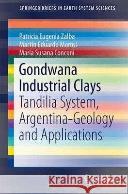 Gondwana Industrial Clays: Tandilia System, Argentina-Geology and Applications Patricia Eugenia Zalba Martin Eduardo Morosi Maria Susana Conconi 9783319394558