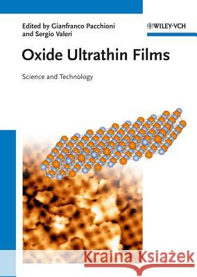 Oxide Ultrathin Films  9783527330164