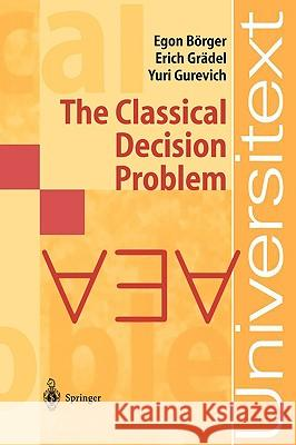 The Classical Decision Problem  9783540423249