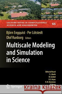 Multiscale Modeling and Simulation in Science Bjarn Engquist 9783540888567