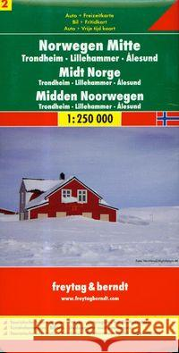 Map-Norway Central  9783707903171
