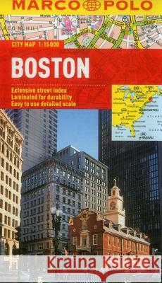 Boston Marco Polo City Map   9783829769631