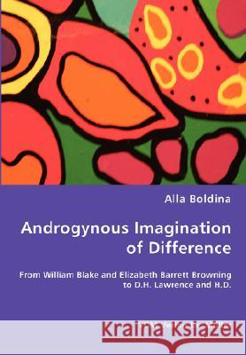 Androgynous Imagination of Difference Alla Boldina 9783836461788