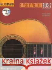 Hal Leonard Gitarrenmethode, m. Audio-CD. Buch.2 Schmid, Will; Koch, Greg 9783865437259