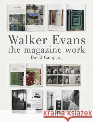 Walker Evans: The Magazine Work David Campany 9783869302591