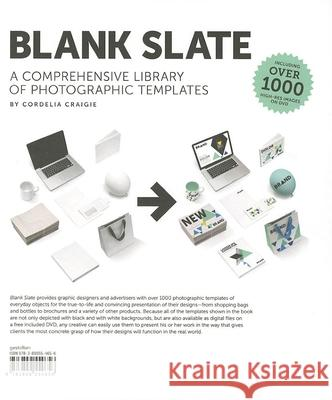 Blank Slate: A Comprehensive Library of Photographic Dummies [With DVD] Cordelia Craigie 9783899554656