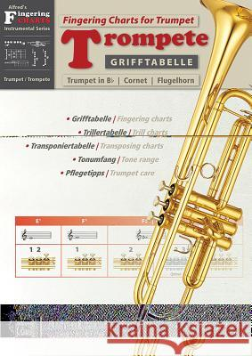 Grifftabelle Fr Trompete [fingering Charts for Trumpet]: German / English Language Edition, Chart  9783943638646