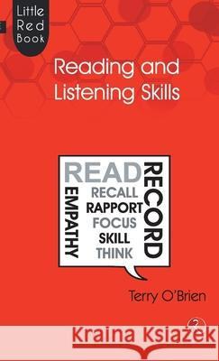 Little Red Book Of Reading And Listening Skills Terry O'Brien 9788129139870