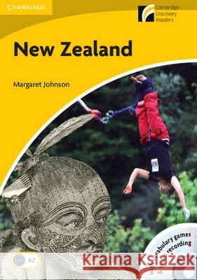 New Zealand Level 2 Elementary/Lower-Intermediate Book and Audio CD Pack [With CDROM] Margaret Johnson 9788483234853