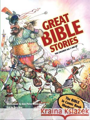 Great Bible Stories Ben Alex 9788772470269