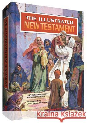 Illustrated New Testament: Contemporary English Version Jose P. Montero 9788772476803
