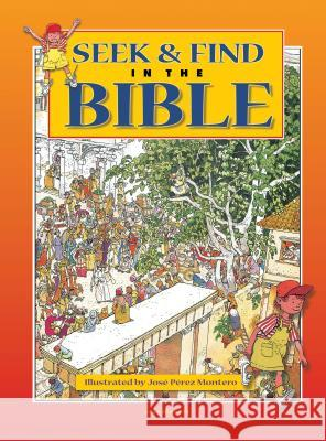 Seek & Find in the Bible Scandinavia Publishing 9788772477541