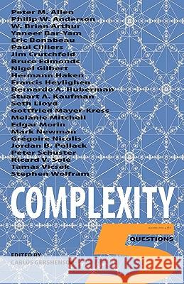 Complexity: 5 Questions Carlos Gershenson 9788792130136