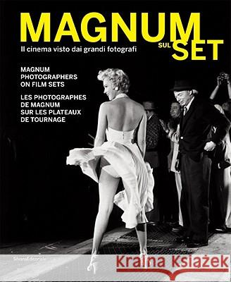 Magnum Photographers on Film Sets [With DVD] Alberto Barbera Andrea Holzherr 9788836620012