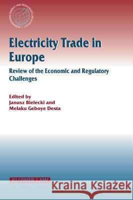 Electricity Trade in Europe Review of the Economic and Regulatory Changes : Review of the Economic and Regulatory Changes Janusz Bielecki Melaku Geboye Desta 9789041122797
