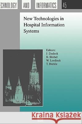 New Technologies in Hospital Information Systems  9789051993639