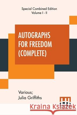Autographs For Freedom (Complete) Various 9789390294237