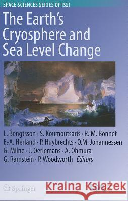 The Earth's Cryosphere and Sea Level Change  9789400720626