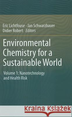 Environmental Chemistry for a Sustainable World: Volume 1: Nanotechnology and Health Risk  9789400724419